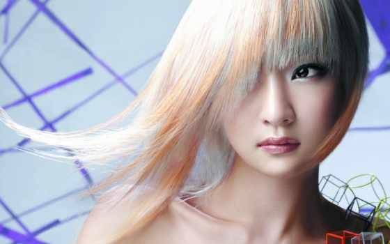 волосы, девушка, asian