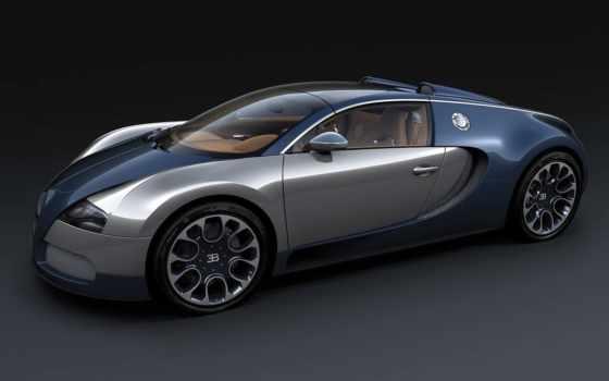 bugatti, veyron, спорт, авто, grand, sang, bleu,