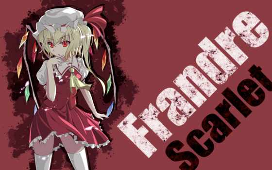 touhou, hair, collection, anime, flandre, thighhighs, scarlet,