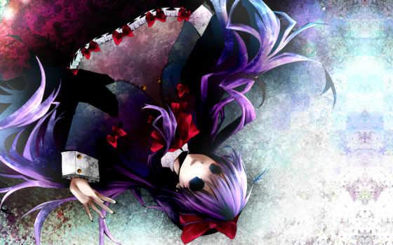 shiki, усопшие, anime, разных, труп, разрешениях, демона,