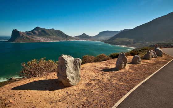 море, горы, landscape Фон № 101467 разрешение 2560x1440