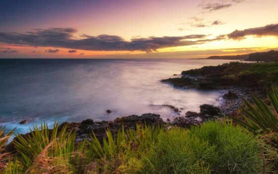 высокого, разрешения, vintika, страница, море, красивые, закат, стоишь, you, пейзажи -,