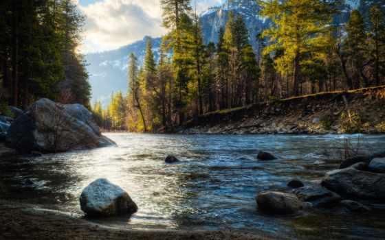 красивые, full, парсер, река, картинок, яndex, камни, landscape, высокого, закат,