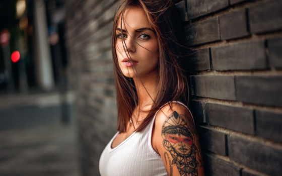 девушка, татуировкой, яndex, коллекциях, коллекции, card, тату,