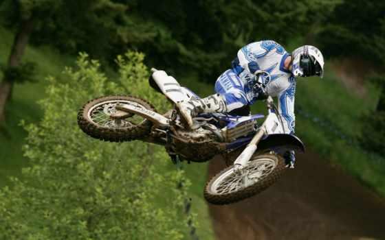 кроссовые, мотоциклы Фон № 2542 разрешение 1366x768