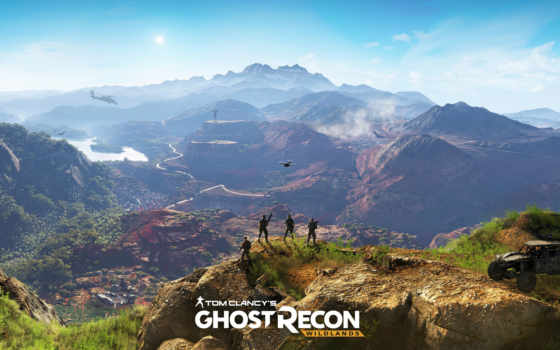 wildlands, ghost, recon, tom, clancy, trailer,