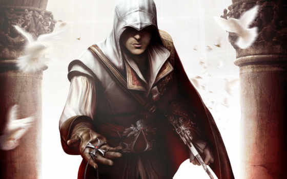 эцио, auditore, да, firenze, creed, assassin, дек,