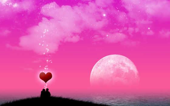небо, love, ночь, со, луна, more, лет, ago,