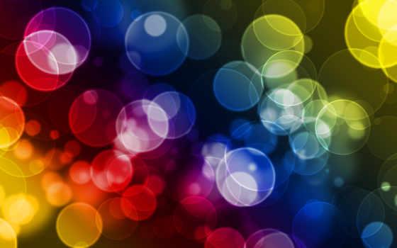 цветные, кружочки, фоны, заставки, кружки,
