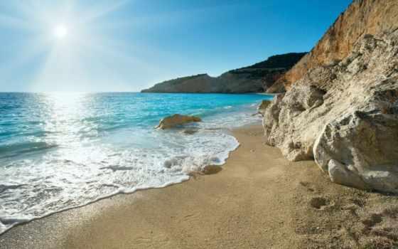 greek, море, природа, greece, побережье, скалы, песок, остров,