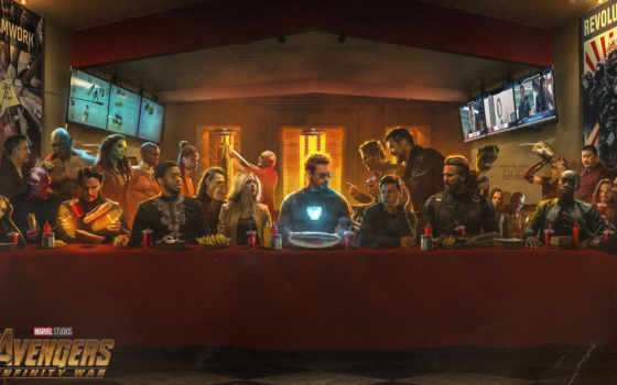 герои, avengers, плакат, персонажи,