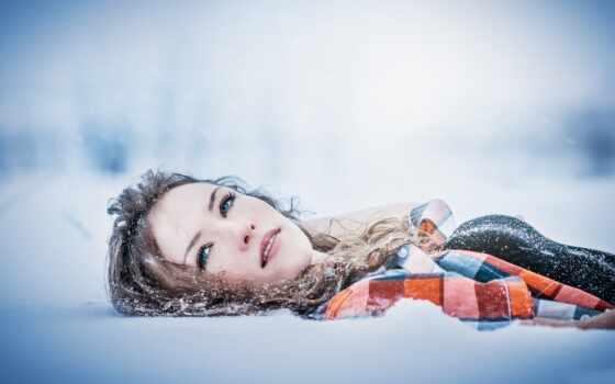 девушка, снег, winter, drift, senior, metkii, skin, фото, глаза