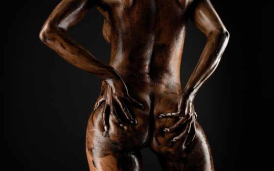 девушка, черный, девушки, эротика, girls, hot, www, body, chocolate, грязь, covered, sergio, erotica,