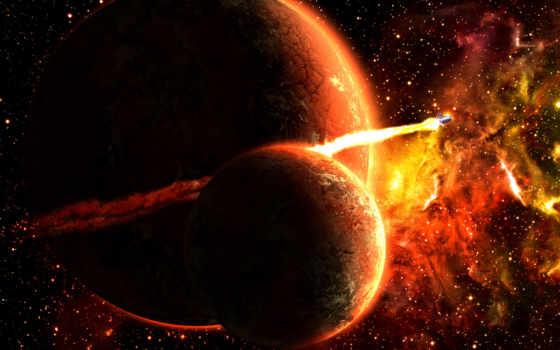ракета, планета
