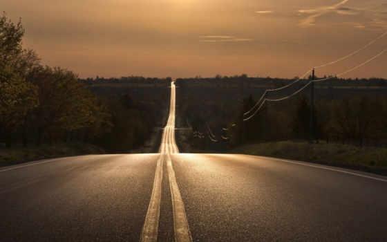 дорога, anywhere, уходит, distance,