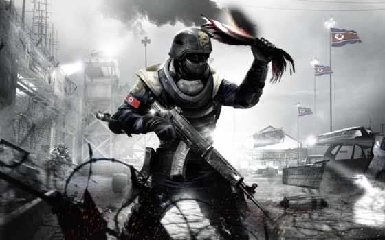 флаг, истребитель, homefront, акпп, gamewallpapers,