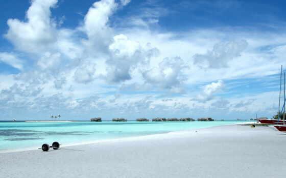 природа, пляж, maldives