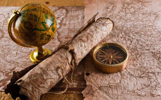 шар, map, globus, компас, mapy, compass, world, руки, journey, other,