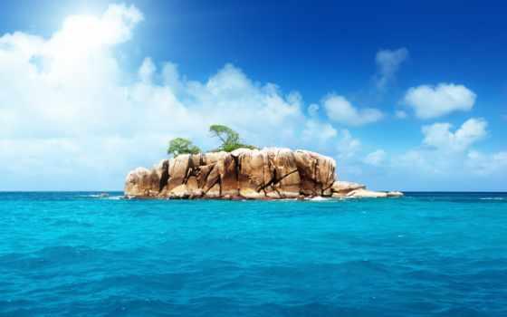 остров, ocean, islands, ан, seychelles, море,