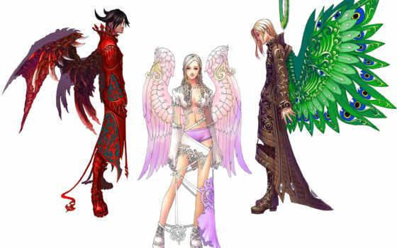 anime, half, дракон, human, png, ангелы,