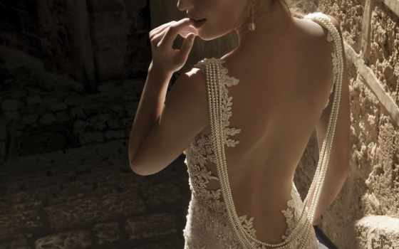 платья, свадебный, свадьбы, спина, свадебные, jewelry, платье, ожерелье, невесты,