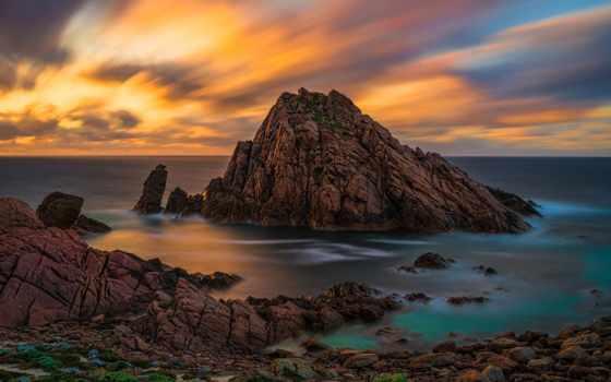 landscape, море, rock, kartinik, free, ocean, природа