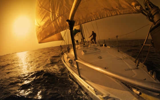 спорт, яхта