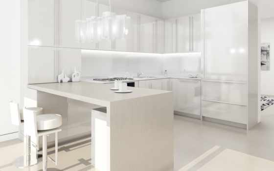 kitchen, white, design, интерьер, комната, кухни, home, ideas, modern, remodeling, countertops, квартира,