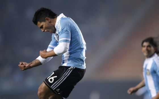aguero, футбол, argentina, amerika, copa, kun, картинка,