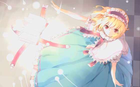 touhou, margatroid, alice, zerochan, ueda, red, dress, tags, books,