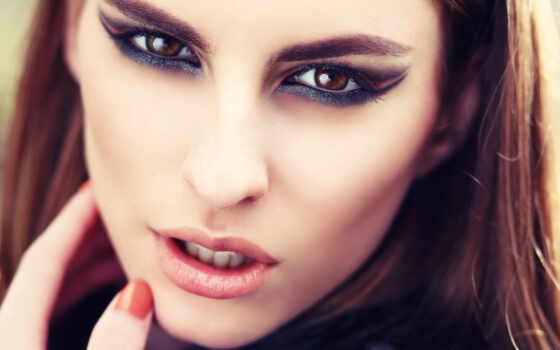 глаза, взгляд, красивая, девушка, кареглазая, подборка, красивых,