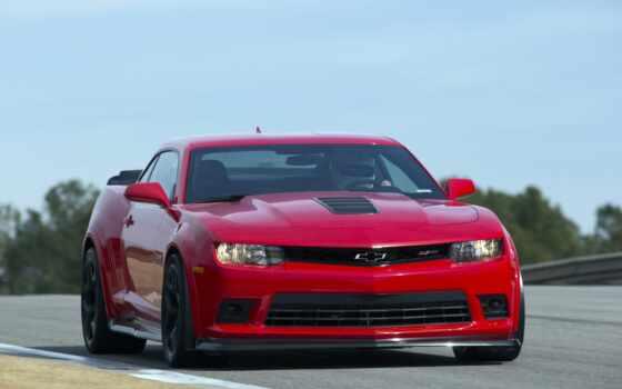 красная, машина,