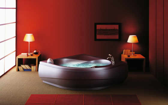 bathroom, jacuzzi, design