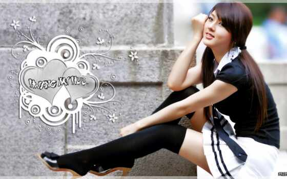 ми, hee, hwang, school, uniforms, wear,