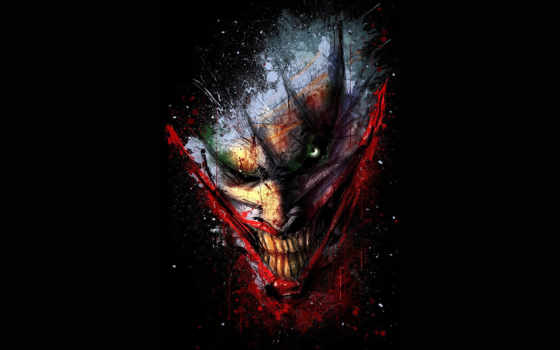 клоун, joker, comics