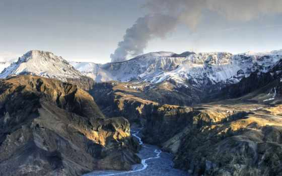 eyjafjallajökul, извержение, вулкан, бесплатные, eyjafjallajokul, iceland, лава, www,