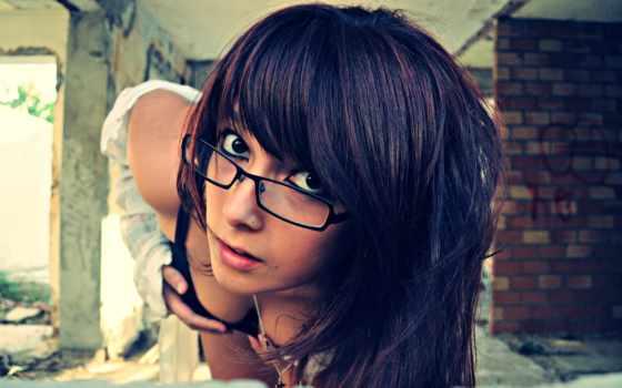 очки, cleavage, women, девушка, sexy, stunners,