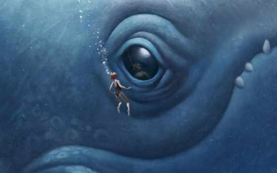 monster, море, ocean, art, кошмары, морских, ночные,