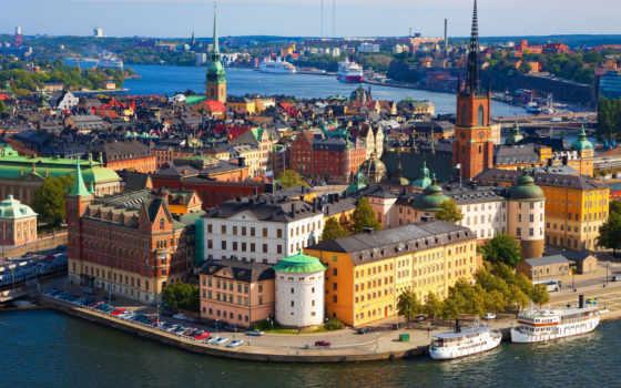 stockholm, sweden, году, столица, helsinki, швеции,