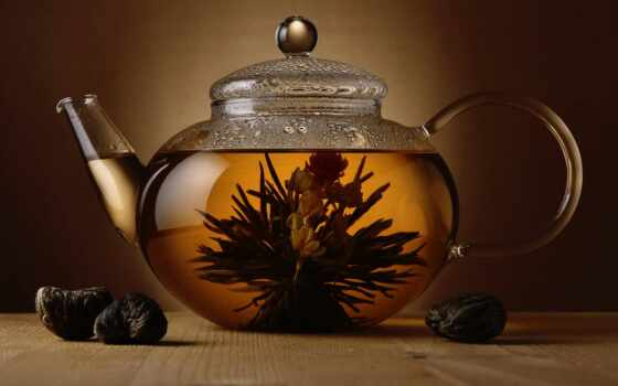 чайная, церемония, чая, китаянка, чайник, заварочный, варево