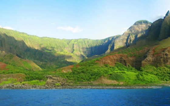 гавайи, island, кауаи, garden, тропический, islands, lush,