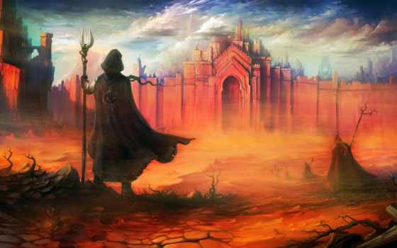 fantasy, пустыня, воин, густой, line, red, pinterest, abstract, art,