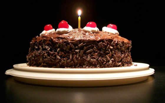 шоколад, торт