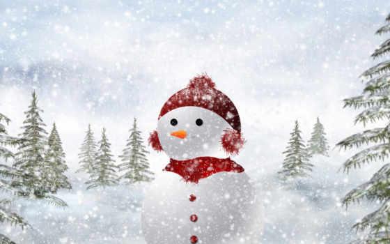 christmas, снеговик Фон № 13831 разрешение 1920x1200