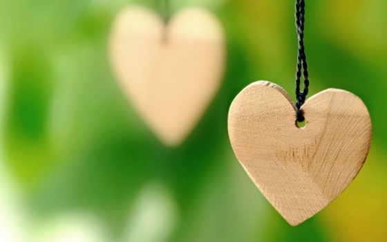 сердце, шнурке, деревянное, download, love, wooden,