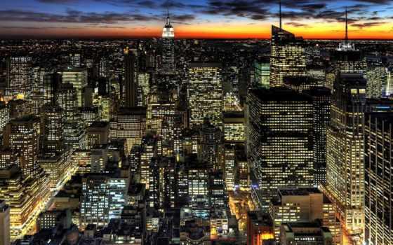 город, города, ночной