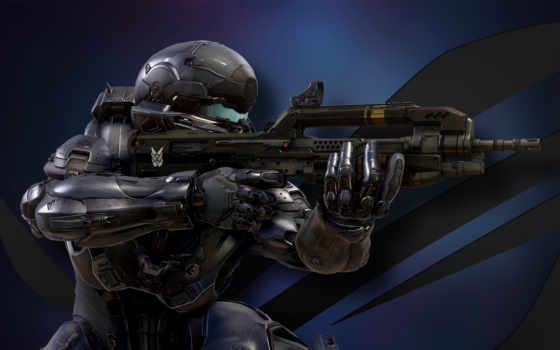 оружие, halo, lockeµäð, пистолет, guardians, доспех, cole, spartans,
