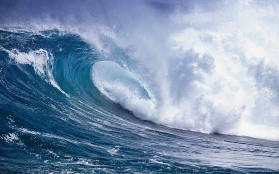 ocean, буря, волна, water, waves, элемент, брызги, море, камни,