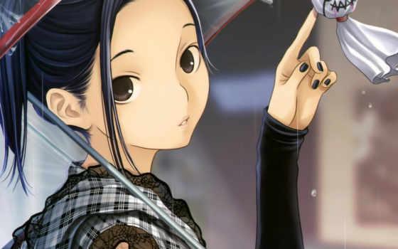 teru, anime, дождь, love, bozu,