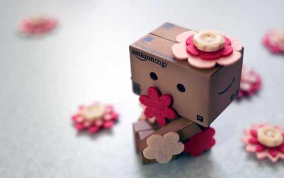 danbo с цветочками